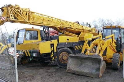 List Of Different Types Of Construction Machinery