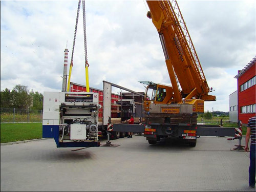 Machinery removal equipment